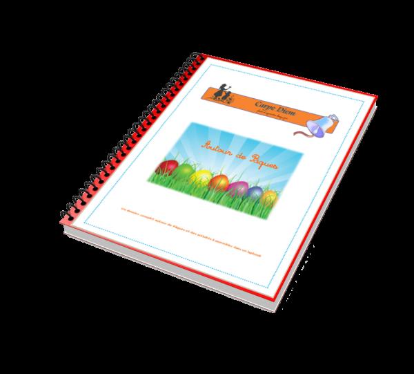 Lapbook gratuit Autour de Pâques