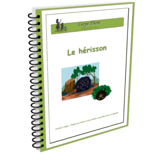 Lapbook Le Hérisson