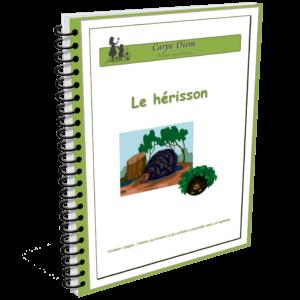 Lapbook Le Hérisson