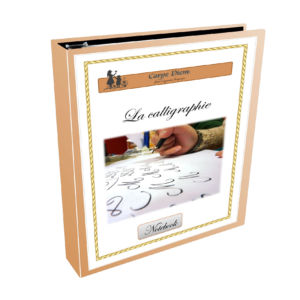 Notebook La calligraphie