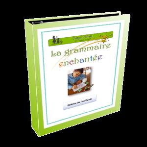 Notebook La grammaire enchantée