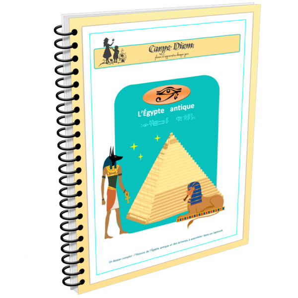 Lapbook L'Egypte antique