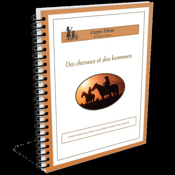 Lapbook Des chevaux et des hommes