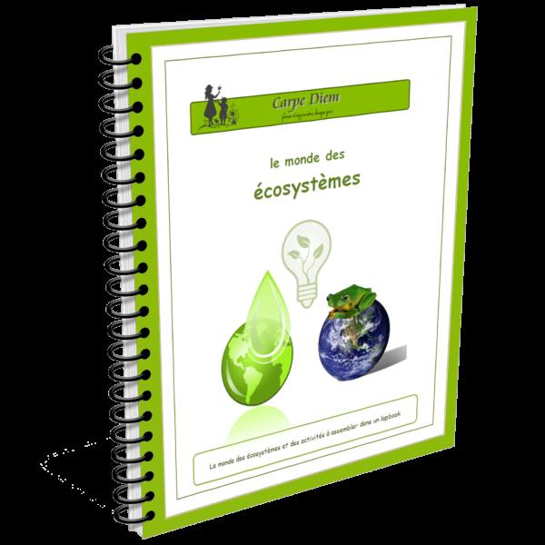 Lapbook Le monde des écosystèmes