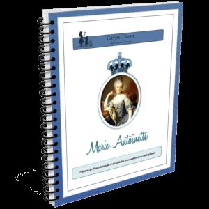 Lapbook Marie Antoinette