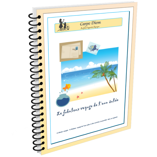 Lapbook Le fabuleux voyage de l'eau salée