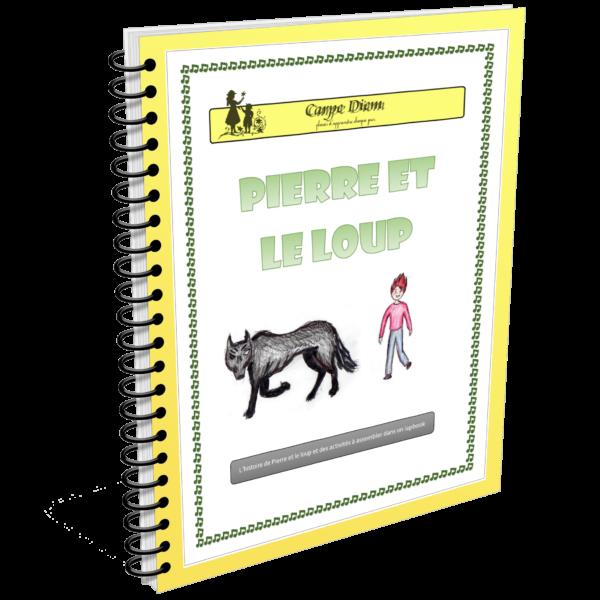 Lapbook Pierre et le loup