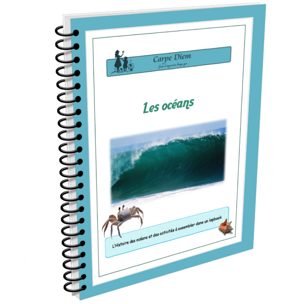 Lapbook Océans